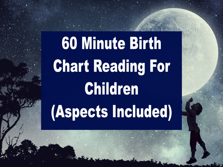 Purchase A Personal Birth Chart Video Reading Lamarr Townsend Tarot
